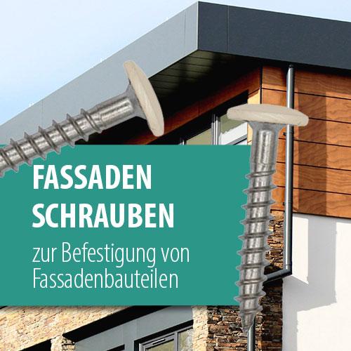 Fassadenbauschrauben - die Schraube zur Montage von Fassadenelementen