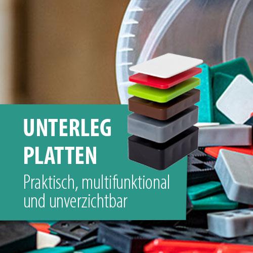 Unterlegplatten - praktisch, multifunktional und unverzichtbar