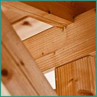 Abbildung Beispiel von einer klassischen Holzverbindung