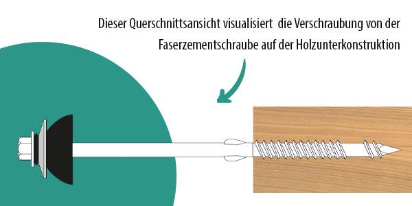 Abbildung Dachbauschraube details