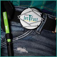 Jet-Fast Power-Pen mit Clip
